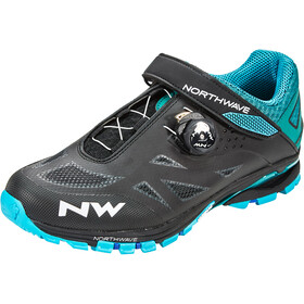 Northwave Spider Plus 2 Scarpe Uomo, black/blue